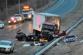 1 Cop Dead, 2 Injured After Head-on Crash In NYC - The Morning Call Truck Accident Lawyer Nj Have You Been Injured In A Teacher Student Killed Horrific Accident Volving School Bus Driver Tanker Truck On New Jersey Turnpike Two Dead As Crashes With Triaxle Dump Collides And Overturns Onto Vehicle Sending Fedex Tractor Trailer Overturns Snarling Traffic Man Dies Crash With Ctortrailer Police Nbc Company Involved Deadly Crash Has Causes Big Delays On Route 78 Cbs Local Deli Meat Collides Bread Highway Mount Olive 80 School Dump