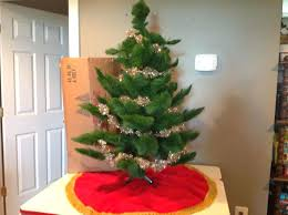 4 Foot Artificial Christmas Tree Vintage Best Trees Images On Ft Pre Lit