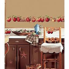 I Love That Set A Theme For My Kitchen APPLES AWAY Apple DecorWhite