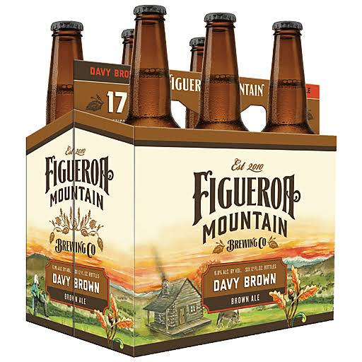 Figueroa Mountain Davy Brown Ale 6pk