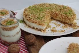 gruensteinkitchen tel kadayifli muhallebi türkischer