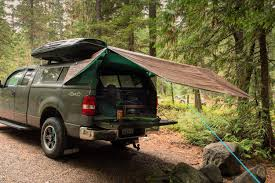 Tarp Tip #6: If Trees Aren't Your Thing, Hang The Tarp Off The Back ... 57066 Sportz Truck Tent 5 Ft Bed Above Ground Tents Skyrise Rooftop Yakima Midsize Dac Full Size Tent Ruggized Series Kukenam 3 Tepui Tents Roof Top For Cars This Would Be Great Rainy Nights And Sleeping In The Back Of Amazoncom Tailgate Accsories Automotive Turn Your Into A And More With Topperezlift System Avalanche Iii Sports Outdoors 8 2018 Video Review Pitch The Backroadz In Pickup Thrillist