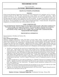 Download Manufacturing Engineer Resume Objective Bongdaao Of Free Sales Marketing Examples
