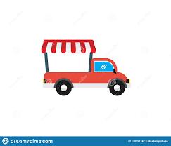 100 Truck Store Mobile Shop Food Logo Stock Vector Illustration Of