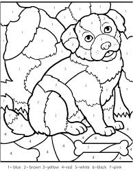 Free Printable Color By Number Pages For Adults Coloring Advanced Dragons