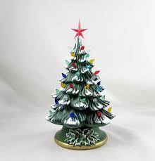 Vintage Ceramic Christmas Tree Lights Rustic Small Decorations Ideas 2018 Beautiful