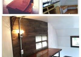 Wood Fronts Also Really Like Simple Layout Rhcom Interested Rustic Camper Remodel In The