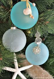 Seashell Christmas Tree Garland by 30 Diy Ornament Ideas U0026 Tutorials For Christmas Ornament Glass
