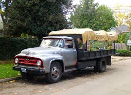 Curbside Classic: 1956 Ford F-600 – Every Neighborhood Should Have A ...