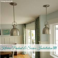 how to install your own light fixture the happy housie
