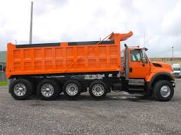 100 Used Quad Axle Dump Trucks For Sale 2008 INTERNATIONAL 7600 FOR SALE 2615