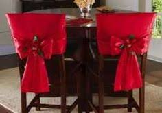 Add A Little Festivity To Your Dining Room Or Kitchen With These Pretty Christmas Chair Covers