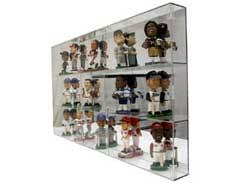 Bobblehead Cases Are Made Of 3 16 Thick Acrylic Shelves Plexiglass And 1 4 Top Bottom Sides Except For The Backs Which