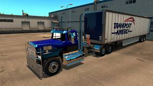 American Truck Simulator Ford LTL 9000 Clothes To Fed-Ex - YouTube
