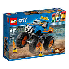 100 Monster Truck For Kids Lego City 60180 Building Sets Kits Baby
