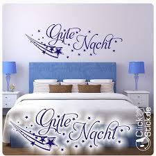 gute nacht schlafzimmer wandtattoo wandaufkleber vintage w1505