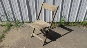 Weathered Wood Slat Folding Chair For A Garden, Plant Stand Or Display Antique Stakmore Louis Rastter Sons Folding Wooden Leather Chairs Set Of 7 1940 Wood Related Keywords Suggestions Midcentury Retro Style Modern Architectural Vintage French Cane Back 6 Mid Century Camping Table And Sante Blog Aptdeco Folding Chairs Are Ideal For Accommodating Extra Details About Chippendale Chair 2 3