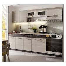 cuisine en kit meuble cuisine pas cher discount kit moreno 2m40 6 meubles 2 plans