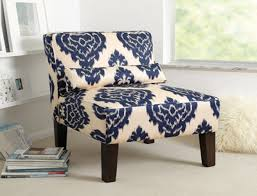 remarkable blue and white accent chair with blue and white accent