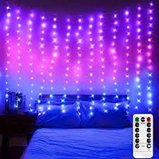 led fenster vorhang lichter foto hintergrund lichter funkeln lichterketten mit fernbedienung für hochzeit schlafzimmer wand weihnachten