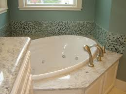 Tiling A Bathtub Deck by Granite Countertops Granite U0026 Tile Should Be Fun