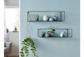 home affaire wall shelf franco 2 pcs wandregal