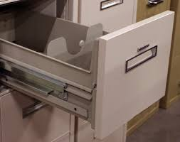 Hon 4 Drawer File Cabinet Used by Shaw Walker Used Putty Letter Sized Vertical Fire File Cabinet