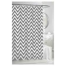 Grey And White Chevron Curtains Target by Chevron Shower Curtain Gray White Kassatex Target