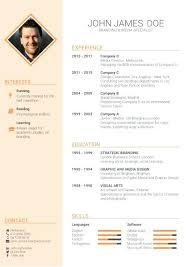 Template Free Online Builder Best Templates International Cv Curriculum Vitae Resume Format 9 Sample Example