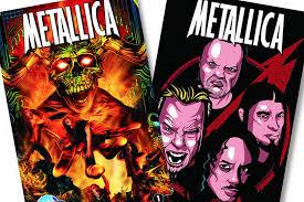 Metallica Celebrated With New Comic Book