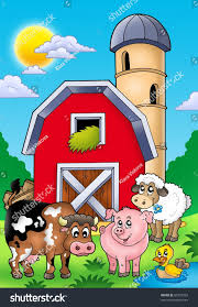 Big Red Barn Farm Animals Color Stock Illustration 60722929 ... Red Barn Clip Art At Clipart Library Vector Clip Art Online Farm Hawaii Dermatology Clipart Best Chinacps Top 75 Free Image 227501 Illustration By Visekart Avenue Of A Wooden With Hay Bnp Design Studio 1696 Fall Festival Apple Digital Tractor Library Simple Doors Cartoon For You Royalty Cliparts Vectors