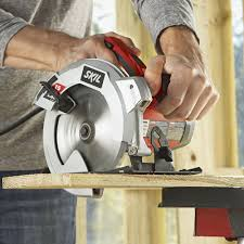 Skil Flooring Saw Home Depot by Skil 5280 01 15 Amp 7 1 4 Inch Circular Saw With Single Beam Laser
