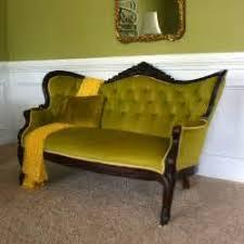 Craftsman Style Olive Green Velvet Sofa Modloft Emerald
