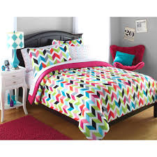 Walmart Zebra Bedding by Your Zone Gold Hearts Bed In A Bag Bedding Set Walmart Com