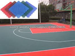 terrain de basket exterieur suge terrain de basket extérieur étage gazon artificiels sol de