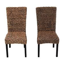 90% OFF - Beachcrest Home Beachcrest Home Anaya Wicker Dining Chairs ... Outdoor Wicker Ding Set Cape Cod Leste 5piece Tuck In Boulevard Ipirations Artiss 2x Rattan Chairs Fniture Garden Patio Louis French Antique White Back Chair Naturally Cane And Plantation Full Round Bay Gallery Store Shop Safavieh Woven Beacon Unfinished Natural Of 2 Pe Bah3927ntx2 Biscayne 7 Pc Alinum Resin Fortunoff Kubu Grey Dark Casa Bella Uk Target Australia Sebesi 2fox1600aset2