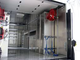Upfitter Gallery - Custom Box Truck Storage System By J&B Truck Body