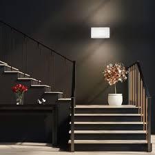 led wandleuchte wand le strahler spot flur licht weiss wohnzimmer beleuchtung