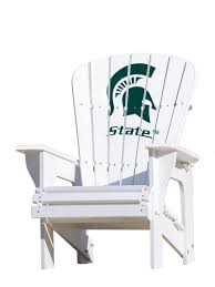 Michigan State University Spartans - Adirondack Chair Hardwood Rocking Chair Ohio State Jumbo Slat Black Ncaa University Game Room Combo 3 Piece Pub Table Set The Best Made In Amish Chairs For Rawlings Buckeyes 3piece Tailgate Kit Products Smarter Faster Revolution Axios Shower Curtain 1 Each Michigan Spartans Trademark Global Logo 30 Padded Bar Stool