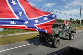 100 Rebel Flag Truck Protests Erupt At Confederate Rally CBS Miami