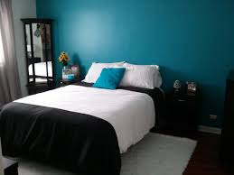 Ideas Large Size Simple Bedroom With Clean Decorating And Dark Furniture Decor