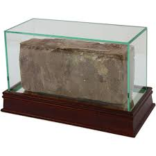 Glass Brick Display Case Enlarge