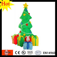Christmas Tree 10ft by 3m 10ft Inflatable Mini Christmas Tree Led Lighting Fit For