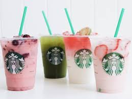 The Cups Of Kindness Collection Violet Drink Matcha Lemonade Ombre Pink And Starbucks
