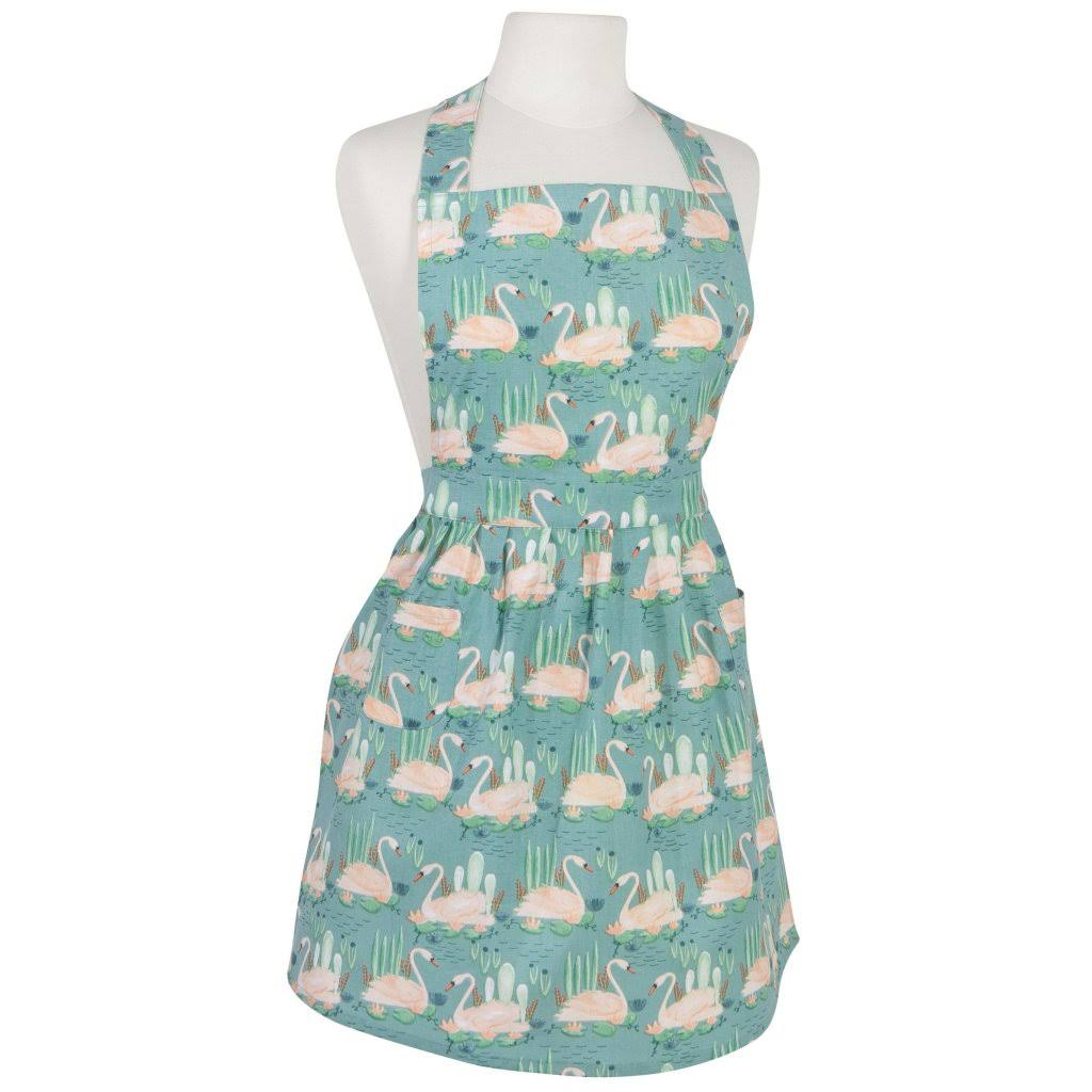 Now Designs Classic Apron - Swan Lake