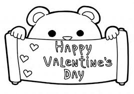 Happy Valentine Day Coloring Pages