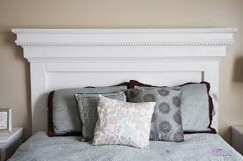 bedroom grey decorative pillow leather bedding white stained