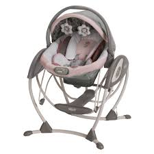 Graco Space Saver High Chair by Minnie U0027s Garden Premier Glider Swing From Graco