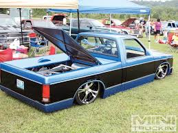 Black & Blue - Slammed Chevy S10 | Mini Truck | Pinterest | Chevy ... Fsft 88 S10 Mini Truck 2000 Obo 2017 Holden Colorado Previewed By Chevrolet S10 Aoevolution 2009 Truck Masters Japan Tour Final Nissan 720 Mini Photo 17 Tubbed Chevy Gmc S15 Pickups Pinterest Luxury Bagged On 24s Oasis Amor Fashion On Instagram Pictamz Severed Ties 99 Matt Cooper 31x105 Mini_trucks Pickup Pro Street Fantastic Paint Narrowed Reviews Research New Used Models Motor Trend