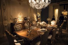 View In Gallery Modern Dining Room Aesthetics With Stunning Lighting And Plenty Of Elegance Opulent Victorian
